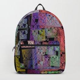 The Escher Factor, modern fractal abstract Backpack