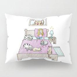 Cats bedtime Pillow Sham
