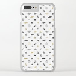House of the Loyal - Pattern I Clear iPhone Case