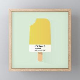 IceTone Meadowlark Framed Mini Art Print