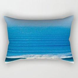 BLUE OMBRE OCEAN Rectangular Pillow