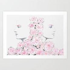 Twins 2 Art Print