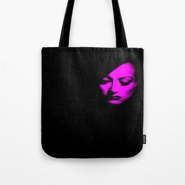 Joan Crawford Fuchsia Tote Bag