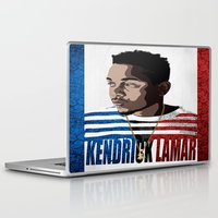 kendrick lamar Laptop & iPad Skins featuring Kendrick  by Tecnificent