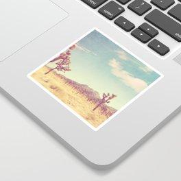 Joshua Tree photograph, desert print, No. 189 Sticker