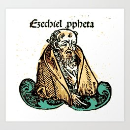 Prophet Ezechiel Art Print