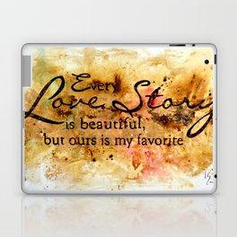 Every Love Story Laptop & iPad Skin