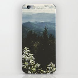 Smoky Mountains - Nature Photography iPhone Skin