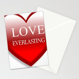 Love Ever Lasting Stationery Cards