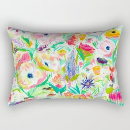 fleurs de printemps Rectangular Pillow