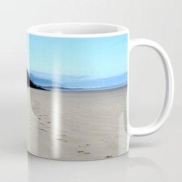 Footpirnts In The Sand Coffee Mug