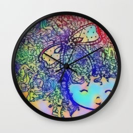 Forever Curlz Wall Clock