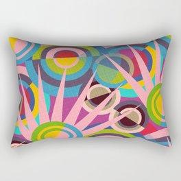 Delaunay Dreams Rectangular Pillow