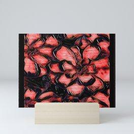 Floral Embosses: Magnolia Daydream 01-03 Mini Art Print