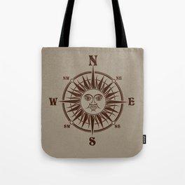 Sun Compass Tote Bag