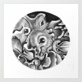 Bats I Art Print