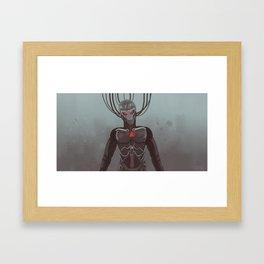 bot_0.4 Framed Art Print