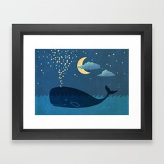 Star-maker Framed Art Print