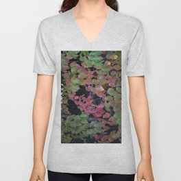 Pretty Fall Dogwood tree leaves Unisex V-Neck