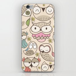 The owling iPhone Skin
