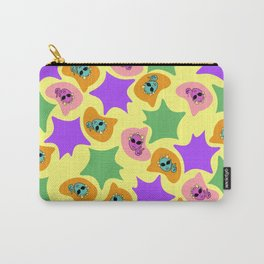 Word Project Pattern Carry-All Pouch