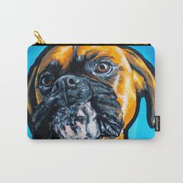 Fawn Boxer Pop Art Design Carry-All Pouch