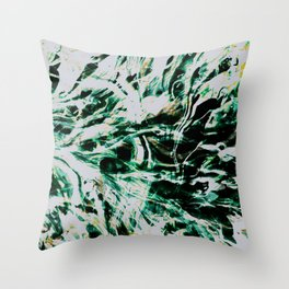 Jaded Throw Pillow