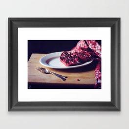 pomegranate, 2 Framed Art Print