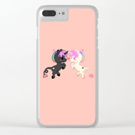 Uni Love Clear iPhone Case