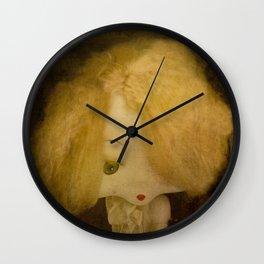 Vintage Doll Wall Clock