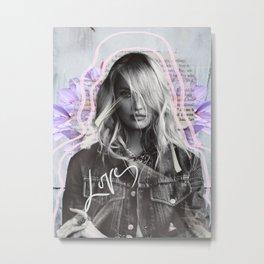 Love Candice Colour Metal Print