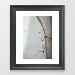 Textured Walls Framed Art Print