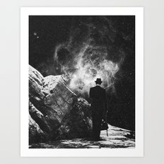The Space Unknown Art Print