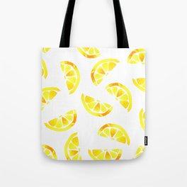 Spring Lemon Juice Tote Bag