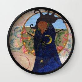 Midnight Dance Wall Clock