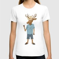 country T-shirts featuring Country deer by Santiago Uceda