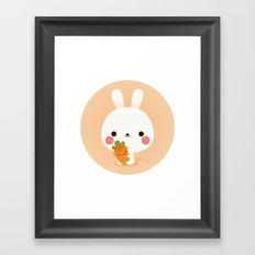 Friday Carrot Framed Art Print
