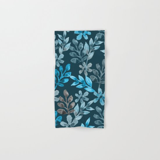 Leaf pattern III Hand & Bath Towel