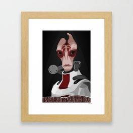 spectr.es: Mordin Solus Framed Art Print