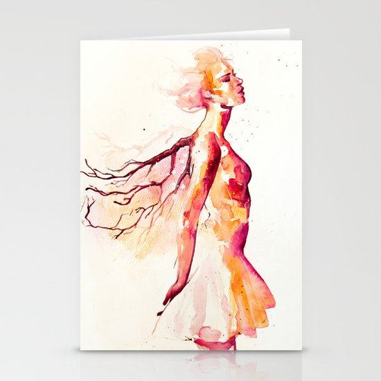 comes light Stationery Cards
