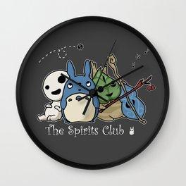 The Spirits Club Wall Clock