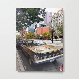 Toronto Sedan Metal Print
