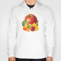 fruit Hoodies featuring Fruit by Bo Derks