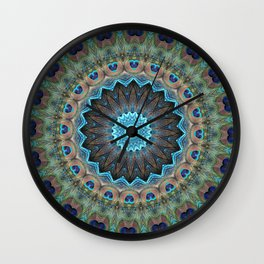 Eyes & Diamonds Wall Clock