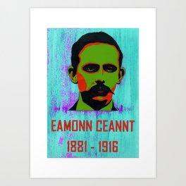 Eamonn Ceannt   1881-1916 Art Print