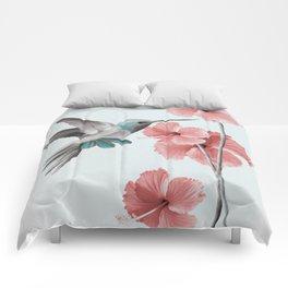 Hibiscus Comforters Society6