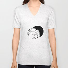 Moon Mode Unisex V-Neck