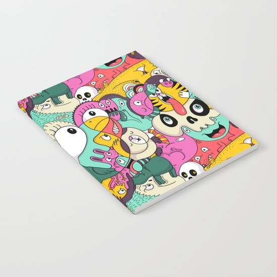 Scribble Guys Pattern Notebook