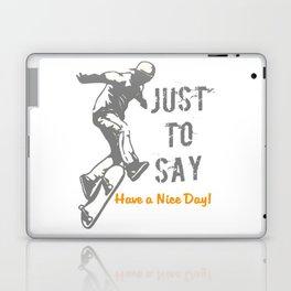 happy Laptop & iPad Skin