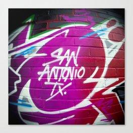 Bienvenidos a San Antonio Canvas Print